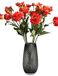 Недорогие -искусственный цветок 3 вилка таракан поддельный цветок зеленое растение свадьба украшения дома