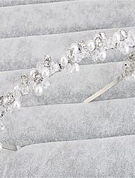 cheap -Crystal / Imitation Pearl / Rhinestone Tiaras with Rhinestone / Crystal / Imitation Pearl 1 Piece Wedding Headpiece