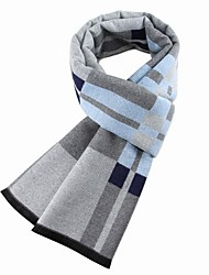 cheap -Men's Basic Rectangle Scarf - Print