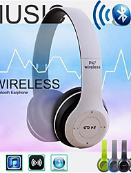 cheap -Wireless Bluetooth Headphones Noise Cancelling Headset Foldable Stereo Bass Sound Adjustable Earphones With Mic For PC Phone
