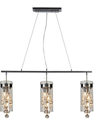 cheap -3-Light 11 cm Creative / New Design Chandelier Glass Glass Sputnik Electroplated Artistic / Modern 110-120V / 220-240V