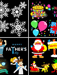 cheap -Flashlight 4 film cards Portable Snowflake Snowman Tree Christmas Light Projector LED Flashlight