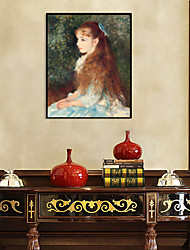 cheap -Framed Art Print Framed Set - People PS Oil Painting Wall Art