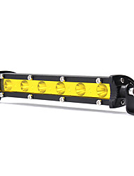 cheap -7 Inch 18W LED Work Light Bar Spot Beam Driving Lamp Yellow DC 12V for SUV ATV Boat 4WD Off Road