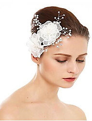 cheap -Imitation Pearl / Rhinestone / Alloy Hair Combs with Rhinestone / Flower 1 Piece Wedding Headpiece