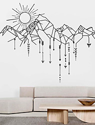 cheap -Decorative Wall Stickers - Animal Wall Stickers / Holiday Wall Stickers Animals / Christmas Decorations Living Room / Bedroom / Kitchen 60*40cm