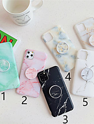 cheap -Phone Case For Apple Back Cover iPhone 11 Pro Max SE 2020 X XR XS Max 8 7 6 with Stand Pattern Marble TPU