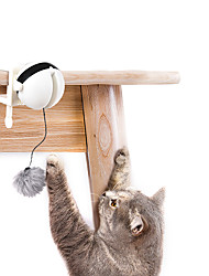 cheap -Teaser Cat Pet Toy 12pcs Pet Friendly Plush ABS+PC Gift