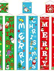 cheap -150*25Cm Decoraciones De Pancarta De Navidad Para El Hogar Navidad 2019 Couplet Ropa Colgante Atmsfera De Navidad Decoracin De Pared
