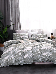 cheap -Duvet Cover Sets Ultra Soft Polyester/ Polyamide Marbling Pattern Printed 3 Piece Bedding Sets