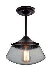 cheap -Globe / Cone Pendant Light Downlight Painted Finishes Glass Glass Mini Style 110-120V / 220-240V