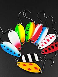 cheap -10 pcs Lure kits Fishing Lures Hard Bait Spoons Sinking Bass Trout Pike Sea Fishing Spinning Jigging Fishing Metal