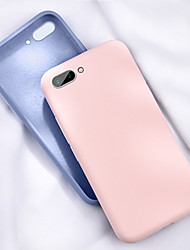 cheap -Huawei glory V20 mobile phone shell glory 10e/V10 liquid silicone soft all-inclusive solid color TPU protective cover new products
