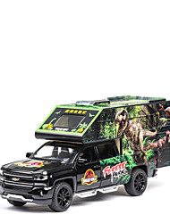 cheap -1:32 Toy Car Jurassic Dinosaur Music Tyrannosaurus Rex Truck Special Designed Glow Parent-Child Interaction Zinc Alloy Rubber ABS+PC All Boys and Girls