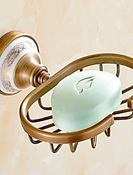 cheap -Soap Dishes & Holders Creative / Multifunction Modern Brass 1pc Wall Mounted