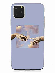 cheap -Case For Apple iPhone 11 / iPhone 11 Pro / iPhone 11 Pro Max Transparent / Pattern Back Cover Scenery TPU