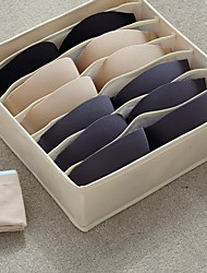 cheap -Drawer Organizer Divider 2 Packs Underwear Organizer,abinet Organizer Underwear Storage Boxes for Storing Socks, Bra, Handkerchiefs, Ties, Belts