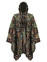 cheap -Men's Unisex Hunting Jacket Outdoor Sunscreen Ultra Light (UL) Quick Dry Breathability Spring Summer Fall Camo Top Polyester Taffeta Camping / Hiking Hunting Climbing Green / Winter / Winter