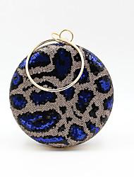 cheap -Women's Sequin / Glitter Alloy Evening Bag Light Coffee / Blue