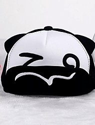 cheap -Toddler Unisex Active / Basic Cartoon Cotton Hats & Caps Black / White One-Size