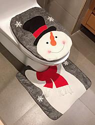 cheap -Christmas Decoration Bath Set Creative Bath Set Two-Piece Christmas Decoration
