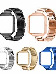 Недорогие -ремешок для часов для FitBit Blaze FitBit дизайн ювелирных изделий из нержавеющей стали браслет