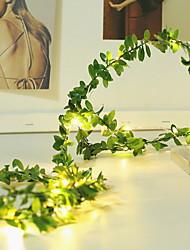 cheap -2m String Lights 20 LEDs Warm White Decorative 5 V 1 set