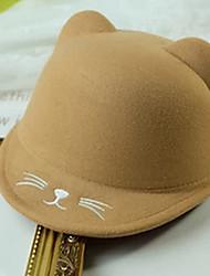 cheap -Toddler Unisex Sweet Animal Hats & Caps Khaki One-Size