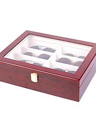 cheap -8-Slot Eyeglass Sunglass Glasses Organizer Collector - Storage Case Box