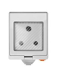cheap -SONOFF S55 TPF-DE Wi-Fi Waterproof Smart Socket - South African PLUG