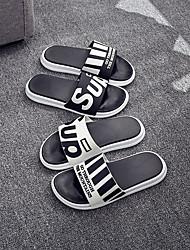 Недорогие -мужские тапочки / домашние тапочки для мальчиков / домашние тапочки повседневная резиновая обувь