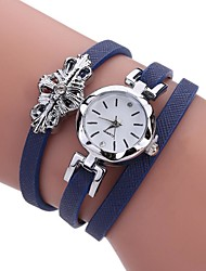 cheap -Women's Wrap Bracelet Watch Quartz Leather Casual Watch Analog Casual