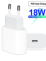 cheap -Fast Charger / Portable Charger USB Charger EU Plug QC 2.0 / Normal 1 USB Port 2 A 100~240 V for Apple