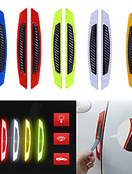cheap -White / Yellow / Red Common / Individuality Door Stickers / Car Tail Stickers 3D Stickers / Reflective Stickers