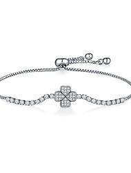 cheap -Women's Earrings / Bracelet Vintage Style Lucky Luxury Classic Korean Fashion Elegant Copper Bracelet Jewelry Silver For Gift Daily School Street Festival
