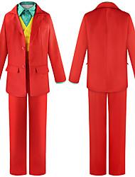 abordables -Burlesques Costume de Cosplay Tenue Homme Femme Cosplay de Film Halloween Arc-en-ciel Manteau Gilet Chemise Halloween Carnaval Polyester / Pantalon