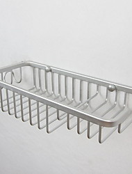 cheap -Bathroom Shelf Creative / Multifunction Contemporary Aluminum 1pc Wall Mounted