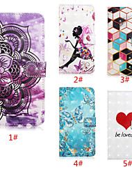 cheap -Case For Apple iPhone 11 / iPhone 11 Pro / iPhone 11 Pro Max Wallet / Card Holder / with Stand Full Body Cases Heart / Flower PU Leather