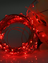 cheap -YWXLight® LED String Fairy Lights Waterproof 3M 30LED Copper Wire Fairy String Light Christmas Wedding Party Decoration AA Battery (No batteries)