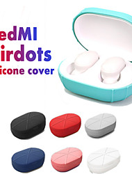 cheap -Durable Silicone Case Protective Cover For Xiaomi Redmi Airdots TWS Bluetooth Earphone Headset Accessories