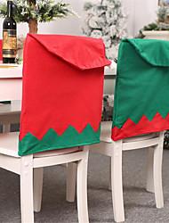 abordables -décorations de vacances fête de Noël du nouvel an / décoratif vert / rouge 1pc