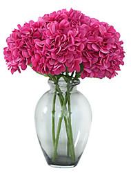 cheap -Simulation Hand Moisturizing Hydrangea Wedding Props Fake Flowers