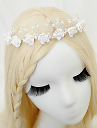 cheap -Crystal / Imitation Pearl Headbands with Crystal / Imitation Pearl 1 Piece Wedding Headpiece