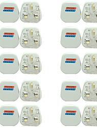 cheap -20pcs Bulb Accessory / Strip Light Accessory / UK ABS+PC Electric Plug for RGB LED Strip Light / for DIY Plant Flower Seeding light / for LED Strip light