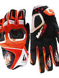 cheap -Full Finger Unisex Motorcycle Gloves Leather / Nylon / Polyster Waterproof / Lightweight / Breathable