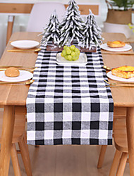 cheap -Placemat For Dinner Tablecloths With Non-Slip Plaid Pattern For Christmas Home Decor