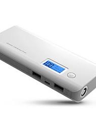 abordables -10000mah banque de puissance double batterie externe powerbank avec affichage led chargeur portable rapide pour téléphones xiaomi