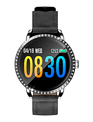 cheap -Smartwatch Digital Modern Style Sporty PU Leather 30 m Water Resistant / Waterproof Heart Rate Monitor Bluetooth Digital Casual Outdoor - Black White Gold