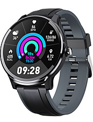 cheap -Smartwatch Digital Modern Style Sporty Silicone 30 m Water Resistant / Waterproof Heart Rate Monitor Bluetooth Digital Casual Outdoor - Black / Gray Black / Green Black / Red