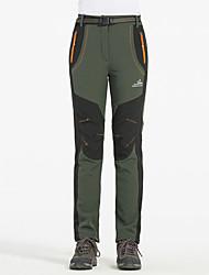 cheap -Women's Hiking Pants Patchwork Winter Outdoor Waterproof Windproof Warm Heat Retaining Bottoms Camping / Hiking / Caving Traveling Winter Sports Orange Army Green Burgundy S M L XL XXL